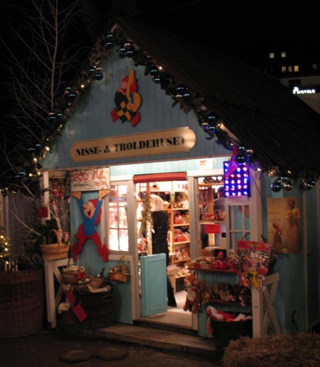 elf and troll shop, Tivoli Gardens, Copenhagen