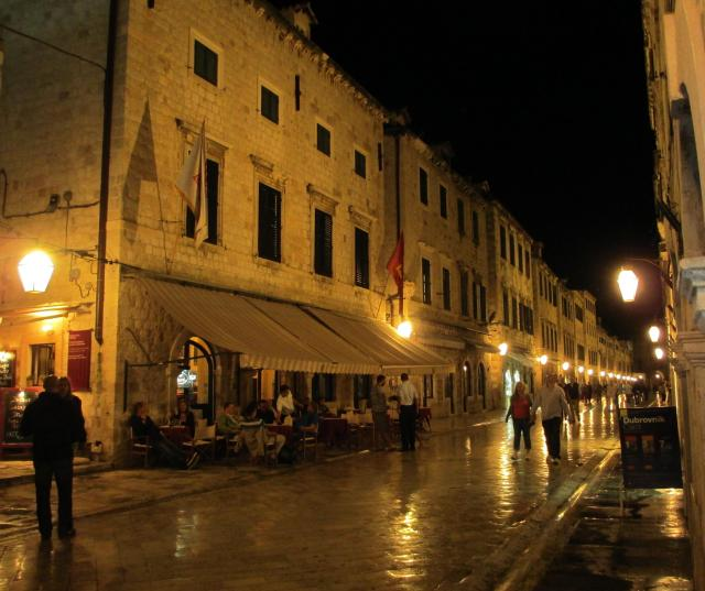 Dubrovnik main street - Stradun - in the old town