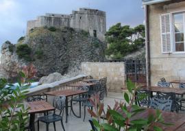harbor restau and city walls
