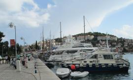 boats at the new harbor