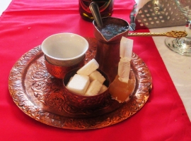Coffee and Turkish delight