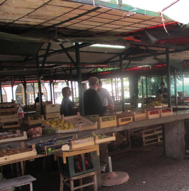 Mostar's outdoor market