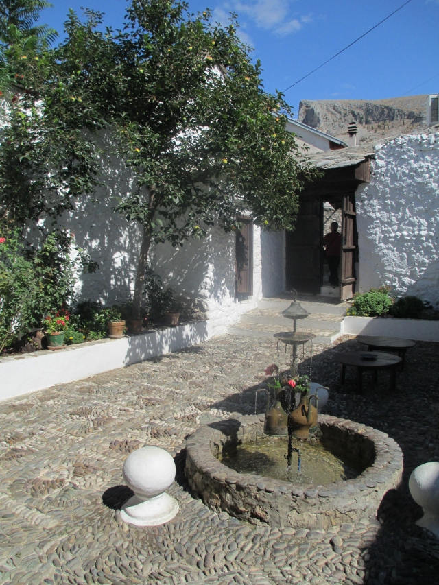 Turkish house courtyard Mostar