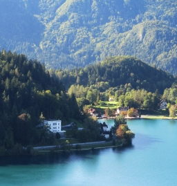 Tito's villa on Lake Bled, now a resort hotel