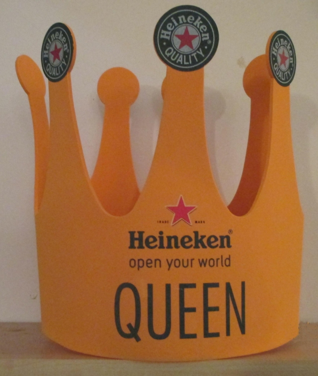 Heineken Queen crown