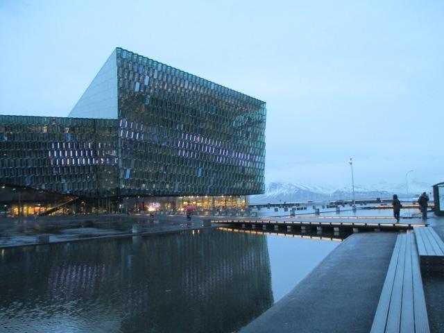 Harpa concert hall, Reykjavik