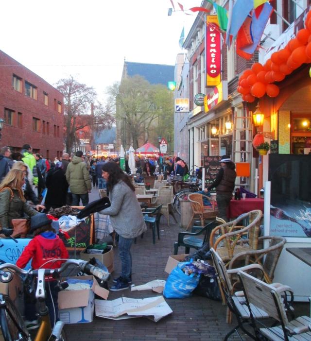 the vrijmarkt, downtown Alkmaar