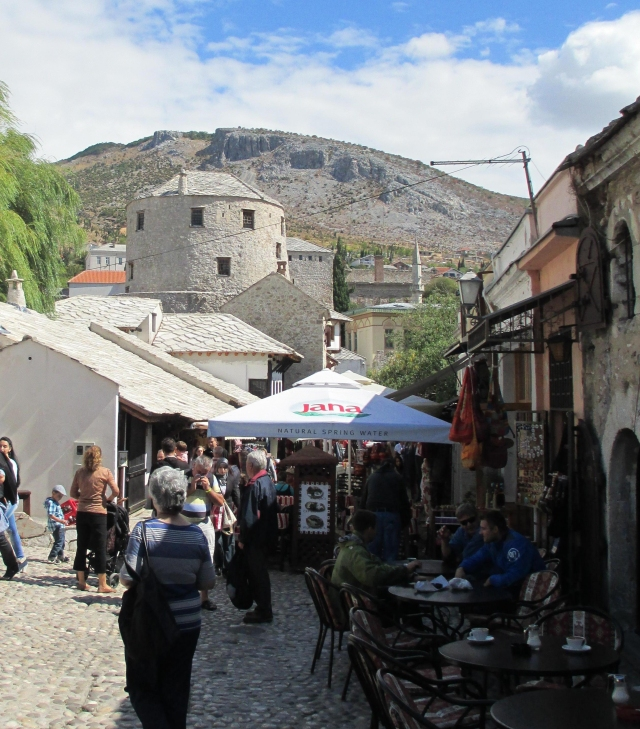 Mostar Old City Kujundžiluk or Coppersmith Street
