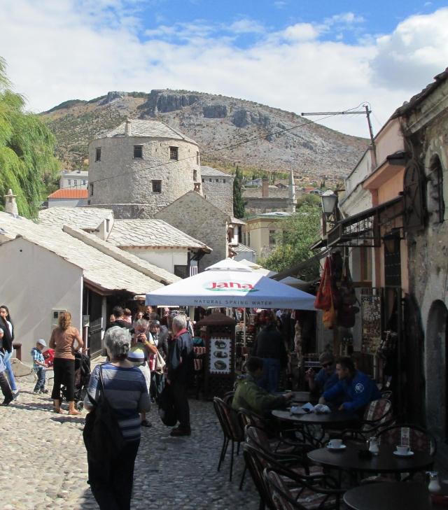 Mostar Old City Kujundžiluk or Coppersmith Street