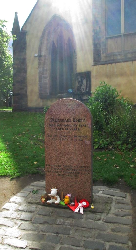 Bobby's grave, Greyfriars Kirkyard Edinburgh