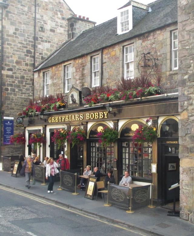 Greyfriars pub, Candlemaker Row, Edinburgh