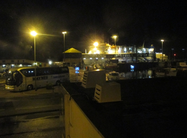 North Link ferry asleep in Stromness