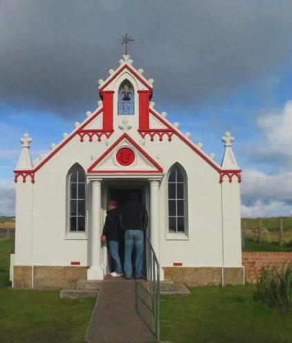 Italian Chapel exterior