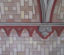 Chapel wall detail