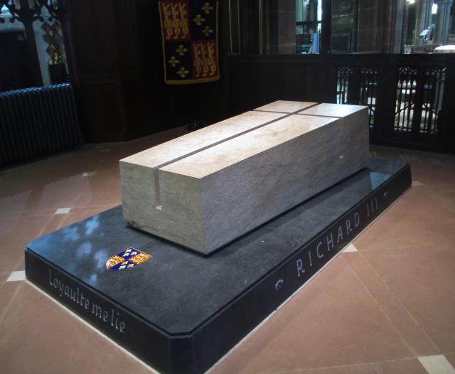 Richard's memorial stone