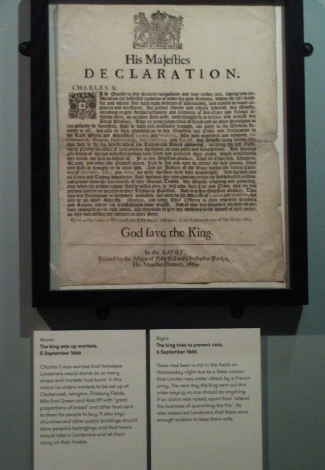 royal proclamations